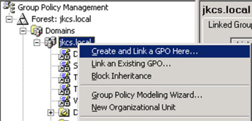 group management policy