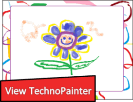 View sample lessons from the TechnoPainter technology project.