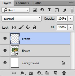 frame layer in photoshop cc