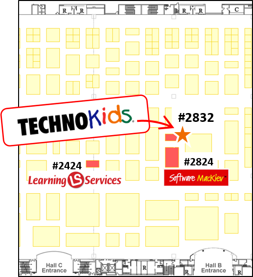 iste show map