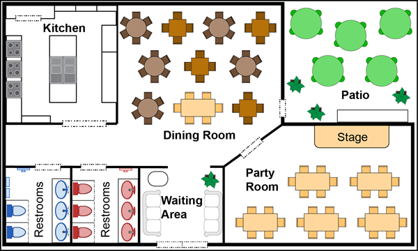 italian restaurant floor plan - home design - game-hay