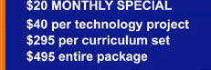 TechnoKids Monthly Specials on Computer Training Software for Kids