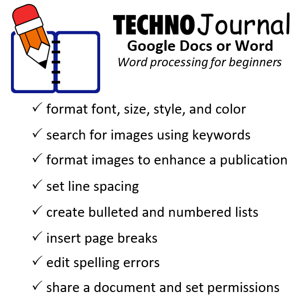 Printables Word Processing Worksheets worksheets word processing laurenpsyk free journal writing activities google docs technojournal for beginners