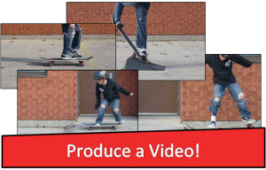 TECHNOPRODUCER:  Produce a video using MovieMaker.