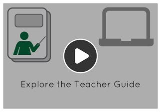 Watch the video to learn about the parts of a teacher guide.