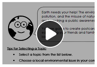 Watch the video to learn more about how you can use the workbook with your middle school students.