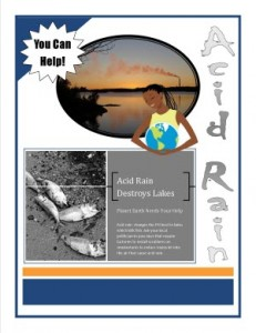 Project based learning has students explore a topic of interest and present findings in original ways.