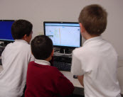 Students learn Internet skills using TechnoJourney computer project