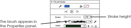 animate paint brush tool
