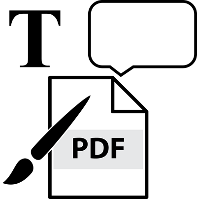 paper with PDF reader
