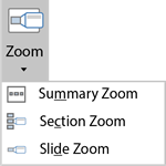 zoom tool in powerpoint