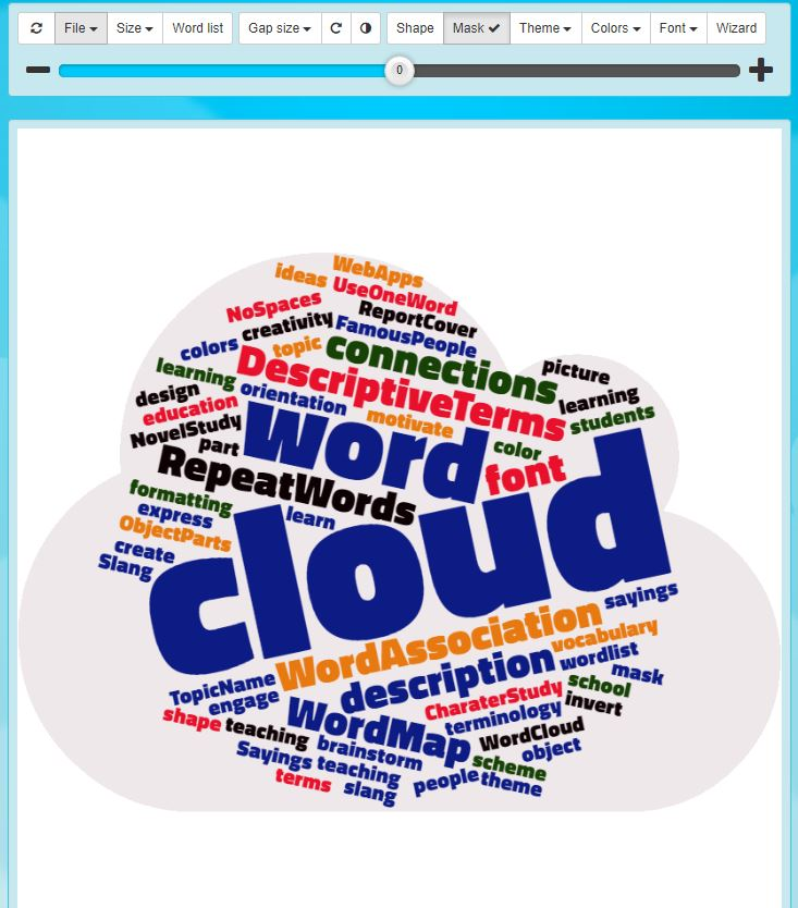 How to Make a Word Cloud using WordClouds com