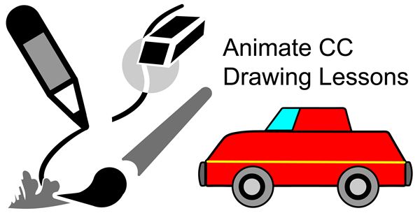 object drawing mode animate cc lessons