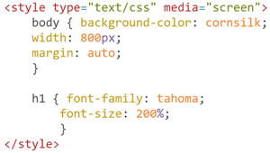 Color Code CSS