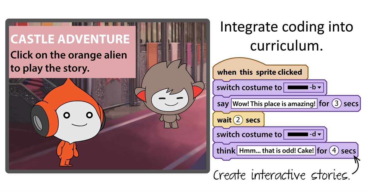 Integrate coding into curriculum.