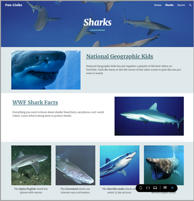 Google Sites Preview