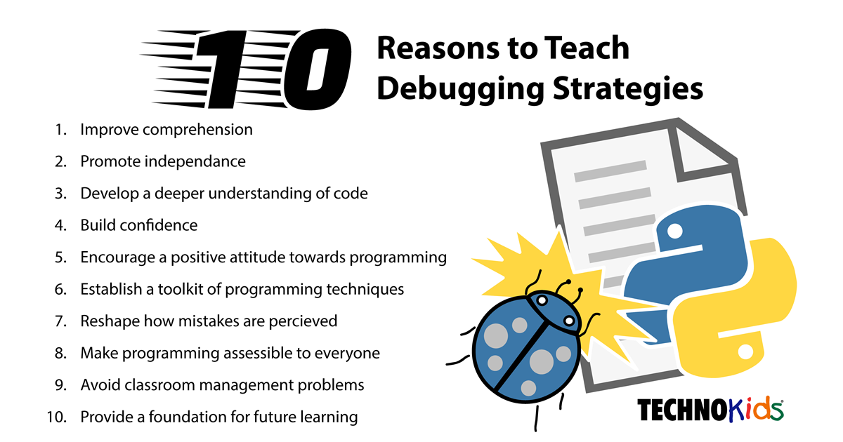 Teach Debugging Strategies