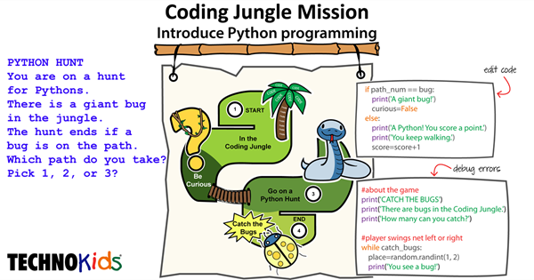 Coding Jungle Mission