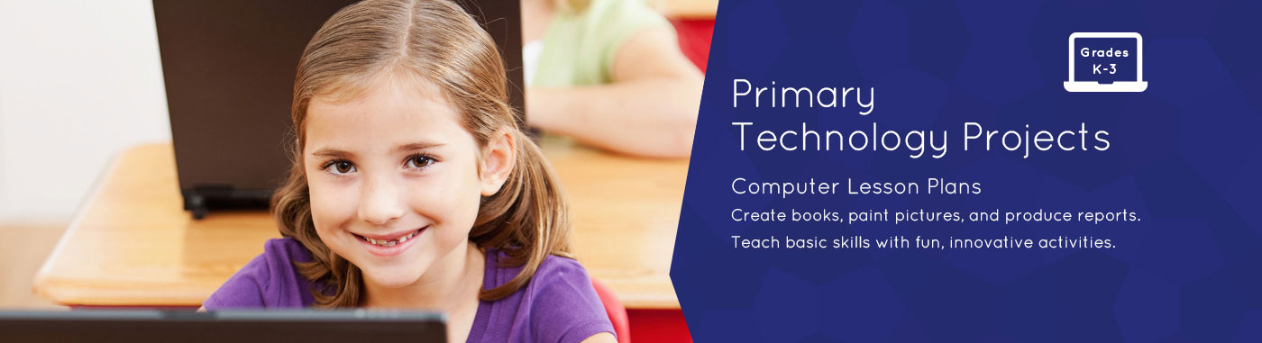 Kindergarten, Primary Computer Lessons, Activities - TechnoKids