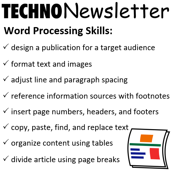 Teach Word Processing Skills