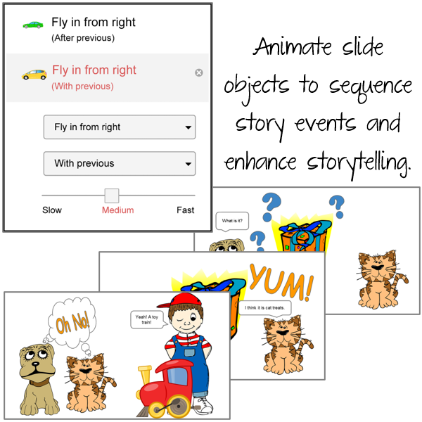 Animate Slide Objects