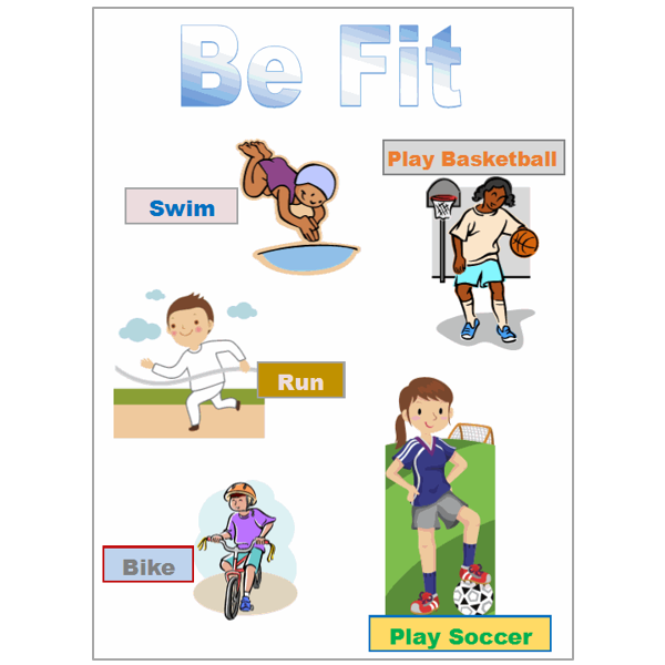 Create a Fitness Poster