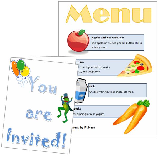 Design a Healthy Choice Menu