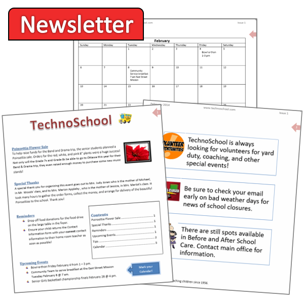 Write and Issue a Newsletter