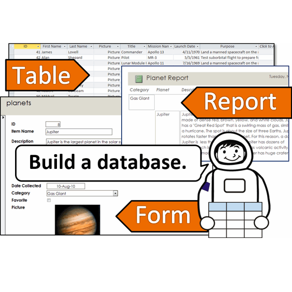 Introduction to Database Lesson Plans