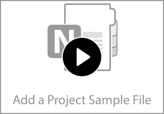Watch the video to learn how to add a sample file to the TechnoKids Class Notebook.