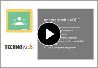 Watch the video to learn how to annotate using XODO.