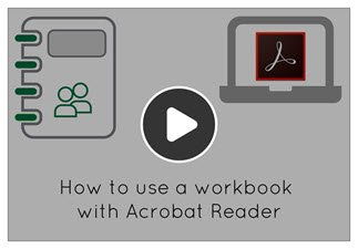 Watch the video to learn how to annotate using Adobe Acrobat Reader.