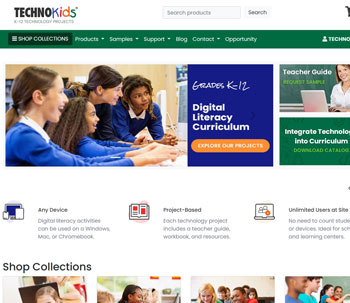 TechnoKids Computer Curriculum | Technology Projects Computer Curriculum