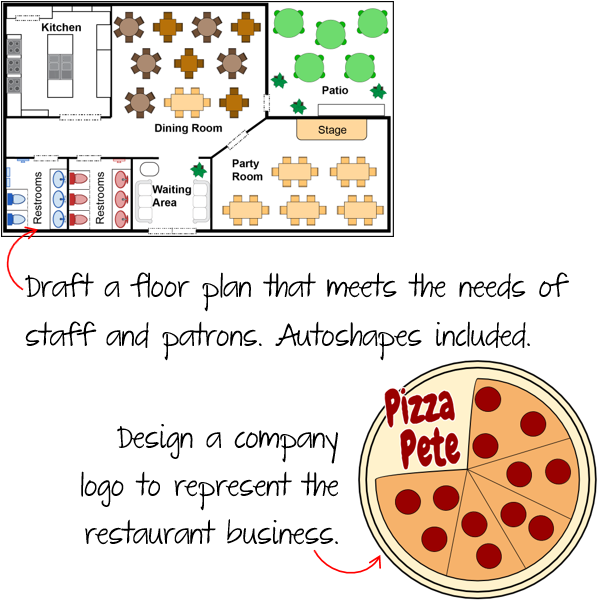 Create a Logo and Floor Plan