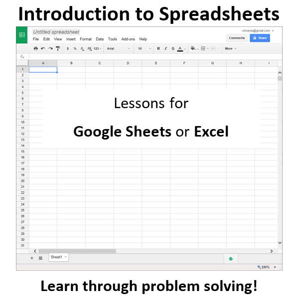 Spreadsheet Lessons for Beginners