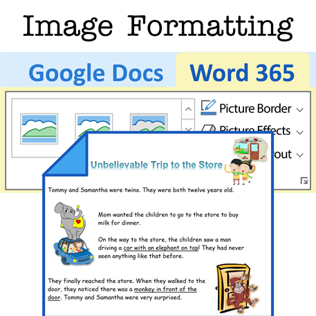 Versions for Microsoft 365 and Google Docs