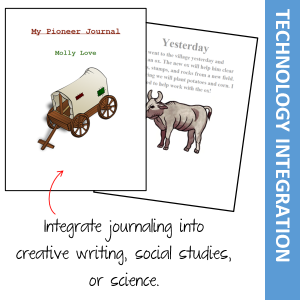 Journaling Activities to Integrate Technology