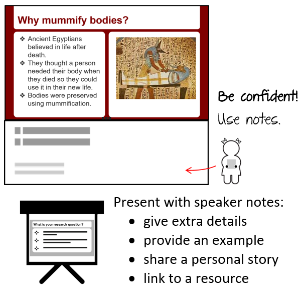 Present with Speaker Notes