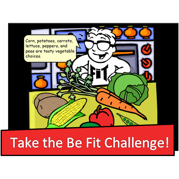 Take the Be Fit Challenge