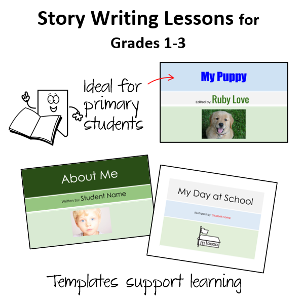 Story Writing for Kids Lessons
