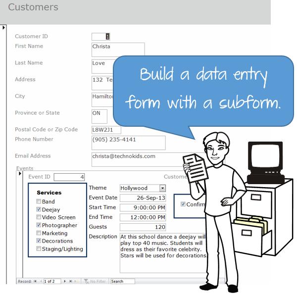 Teach Advanced Database Skills