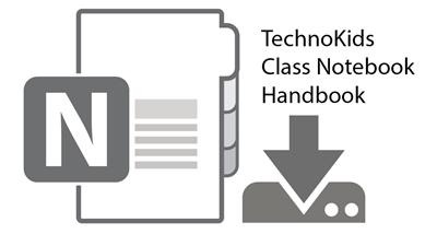 TechnoKids Class Notebook