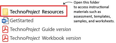 select resources folder
