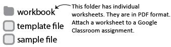 workbook folder